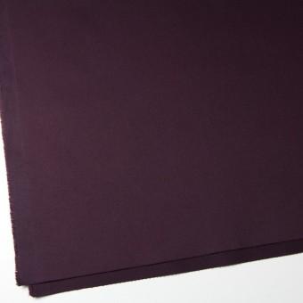 コットン&ポリウレタン×無地(ダークパープル)×チノクロス・ストレッチ_全2色 サムネイル2