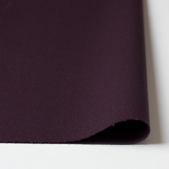 コットン&ポリウレタン×無地(ダークパープル)×チノクロス・ストレッチ_全2色 イメージ3