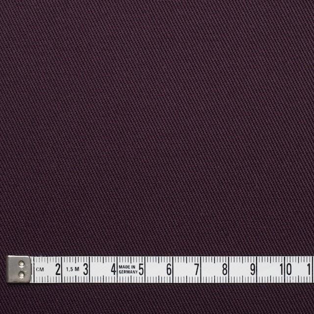 コットン&ポリウレタン×無地(ダークパープル)×チノクロス・ストレッチ_全2色 イメージ4
