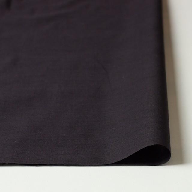 コットン×ボーダー(ダークグレイッシュパープル)×ローン刺繍No2_全4色 イメージ3
