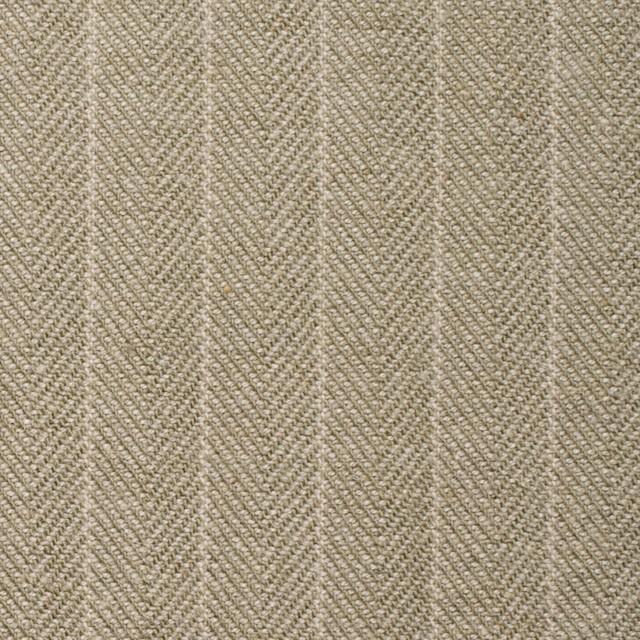 コットン&ウール混×ストライプ(カーキベージュ)×ヘリンボーン イメージ1