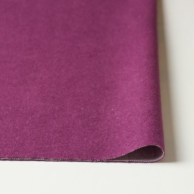 コットン×無地(ピンクパープル)×フランネル_全4色 イメージ3