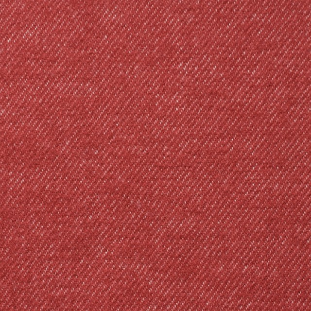 コットン×無地(レッド)×フランネル_全4色 イメージ1