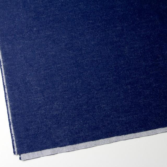 コットン×無地(ブルー)×フランネル_全4色 イメージ2