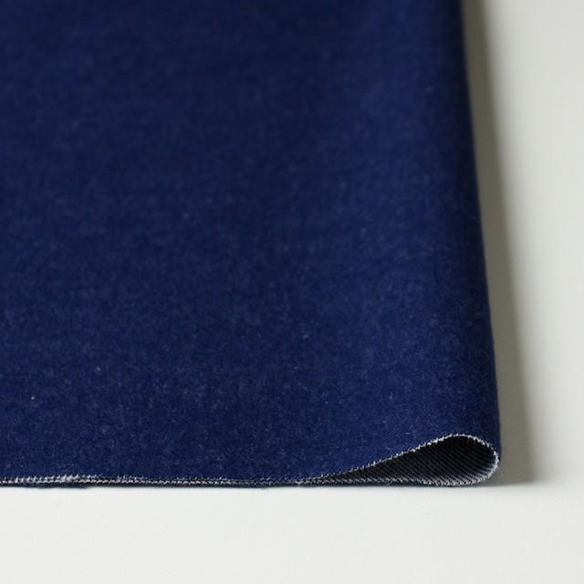 コットン×無地(ブルー)×フランネル_全4色 イメージ3
