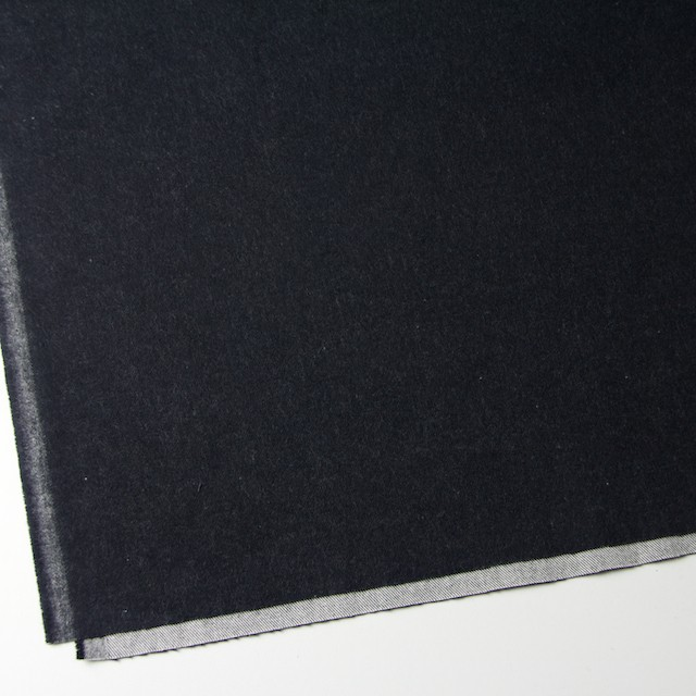 コットン×無地(ブラック)×フランネル_全4色 イメージ2