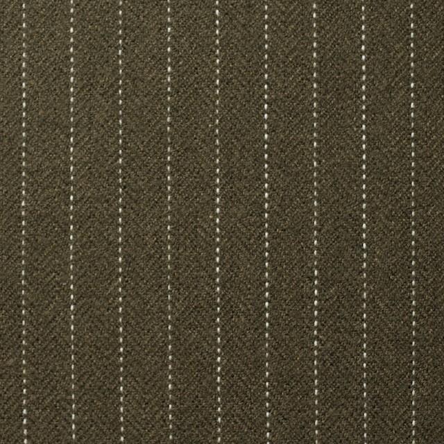 コットン×ストライプ(カーキ)×ヘリンボーン_全3色 イメージ1