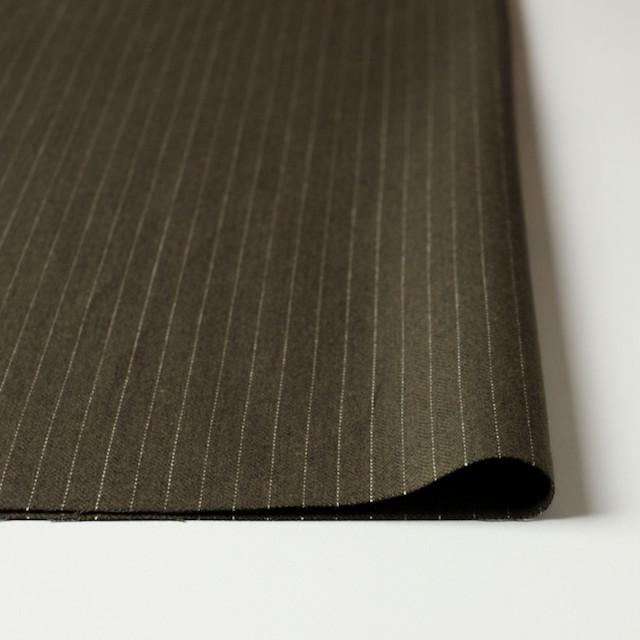 コットン×ストライプ(カーキ)×ヘリンボーン_全3色 イメージ3