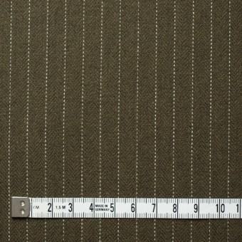 コットン×ストライプ(カーキ)×ヘリンボーン_全3色 サムネイル4