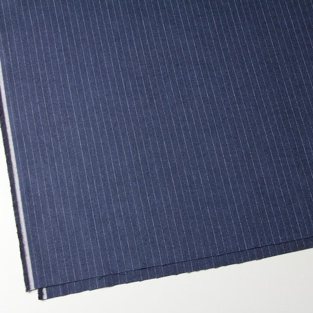 コットン×ストライプ(グレイッシュブルー)×ヘリンボーン_全3色 イメージ2