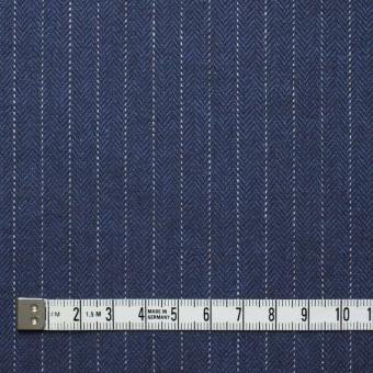 コットン×ストライプ(グレイッシュブルー)×ヘリンボーン_全3色 サムネイル4