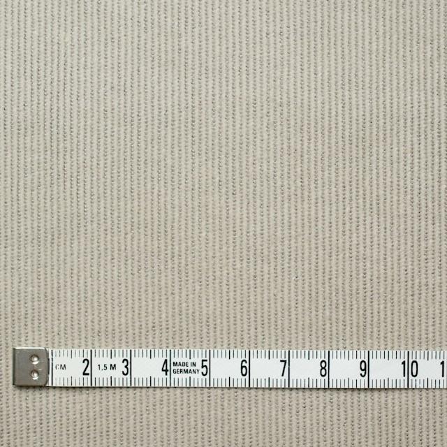 コットン&ポリエステル混×無地(グレイッシュベージュ)×細コーデュロイ・ストレッチ_全3色 イメージ4