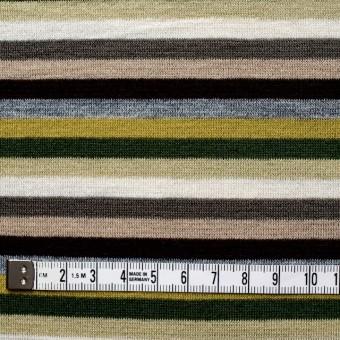 テンセル&ウール混×ボーダー(ライム&グリーン)×天竺ニット_全2色 サムネイル4