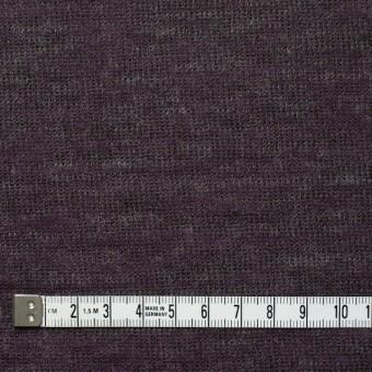 アクリル&テンセル×無地(パープル&グレー)×Wニット_全2色 サムネイル4