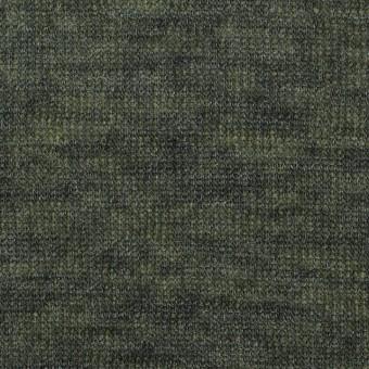 アクリル&テンセル×無地(イエローグリーン&グレー)×Wニット_全2色 サムネイル1