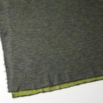 アクリル&テンセル×無地(イエローグリーン&グレー)×Wニット_全2色 サムネイル2