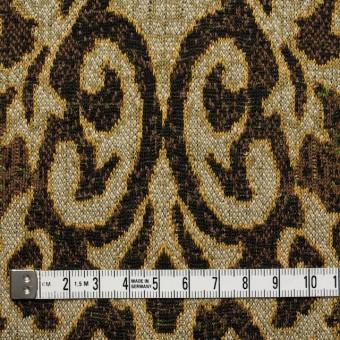 アクリル&ウール×幾何学模様(ブラウンミックス)×ジャガードニット_全3色 サムネイル4