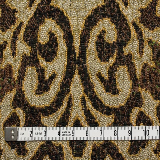 アクリル&ウール×幾何学模様(ブラウンミックス)×ジャガードニット_全3色 イメージ4