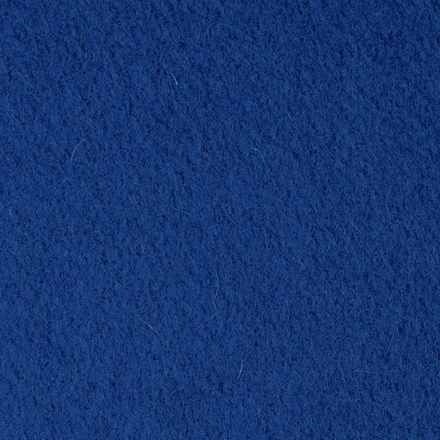 ウール&ナイロン×無地(ブルー)×メルトン イメージ1