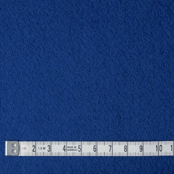 ウール&ナイロン×無地(ブルー)×メルトン サムネイル4