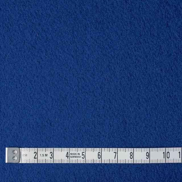 ウール&ナイロン×無地(ブルー)×メルトン イメージ4