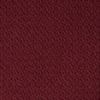 ウール×無地(ガーネット)×かわり織 サムネイル1