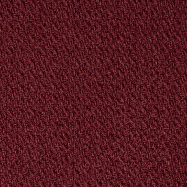 ウール×無地(ガーネット)×かわり織 イメージ1