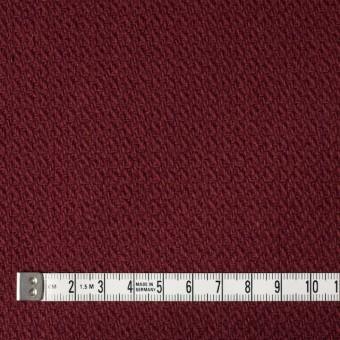 ウール×無地(ガーネット)×かわり織 サムネイル4