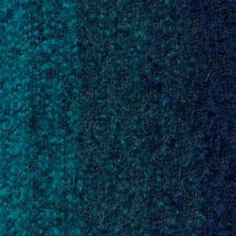 テンセル&ウール×グラデーション(ブルーミックス)×アストラカン サムネイル1