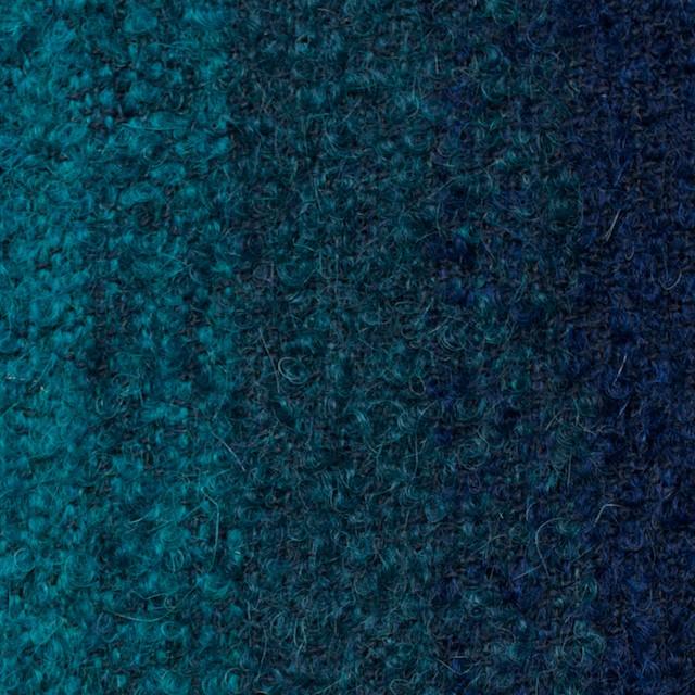 テンセル&ウール×グラデーション(ブルーミックス)×アストラカン イメージ1