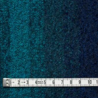 テンセル&ウール×グラデーション(ブルーミックス)×アストラカン サムネイル4