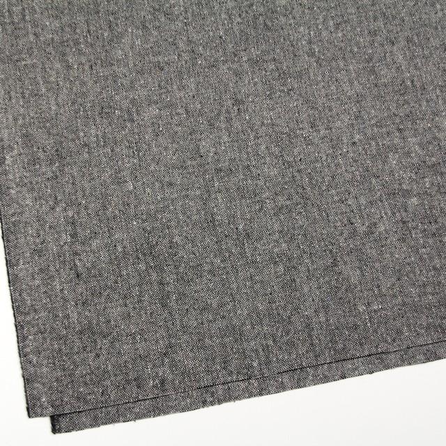 ウール&ポリウレタン×無地(チャコールグレー)×ツイードストレッチ イメージ2