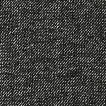 ウール&コットン×無地(ブラック)×ビエラ_全2色 サムネイル1