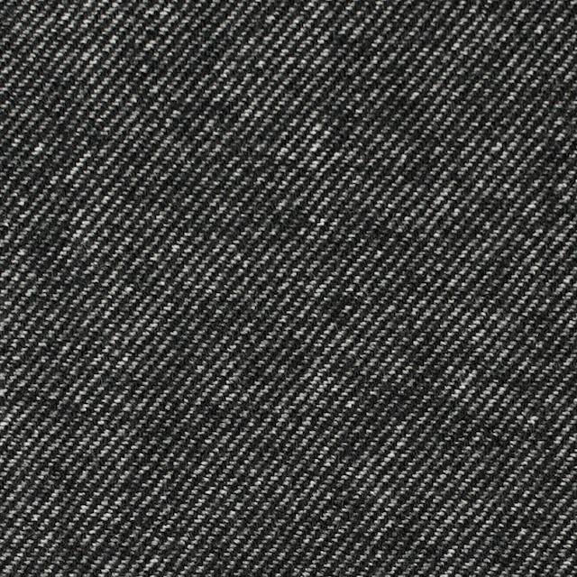 ウール&コットン×無地(ブラック)×ビエラ_全2色 イメージ1
