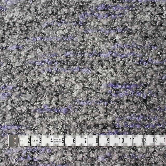 ポリエステル&アクリル混×パープルミックス×ループニット_全3色 イメージ4