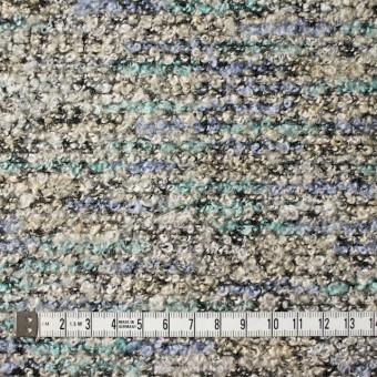 ポリエステル&アクリル混×ブルーミックス×ループニット_全3色 サムネイル4