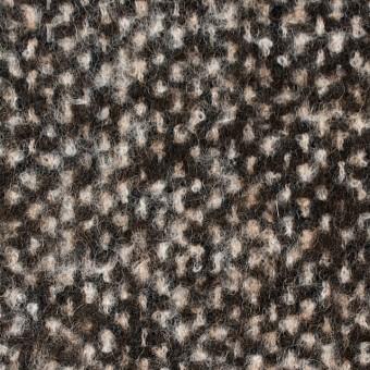 ウール&カシミア×ブラウンミックス×ファンシーツイード_イタリア製 サムネイル1