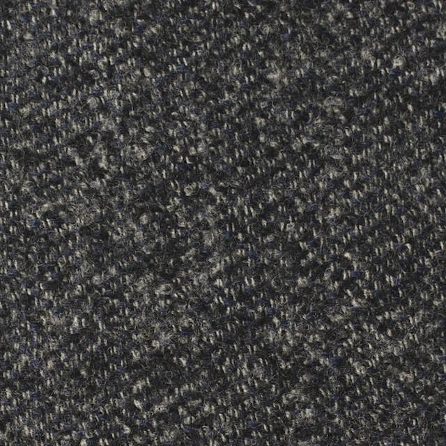 ウール×無地(ブルー&グレー)×ループツイード イメージ1