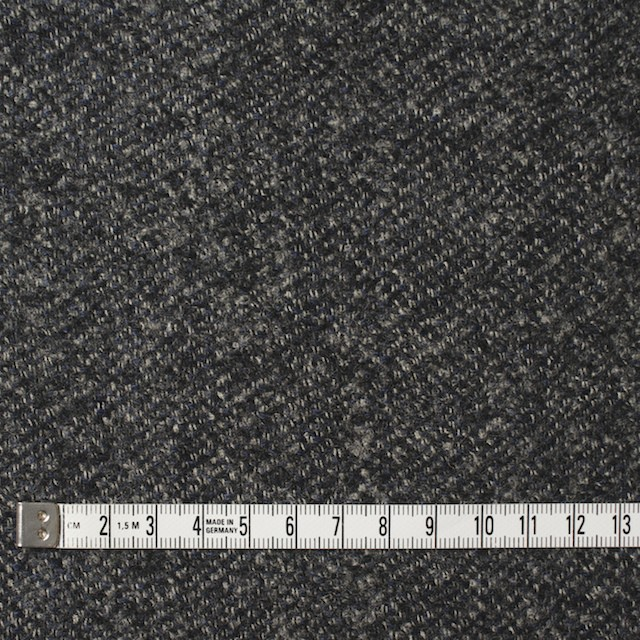 ウール×無地(ブルー&グレー)×ループツイード イメージ4