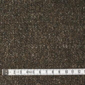 ウール×無地(カーキミックス)×二重梨地織 サムネイル4