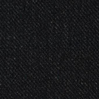 ウール×無地(ブラック)×厚カルゼ サムネイル1