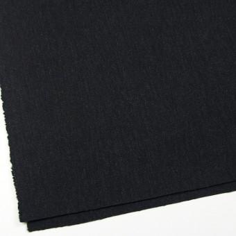 ウール×無地(ブラック)×厚カルゼ サムネイル2
