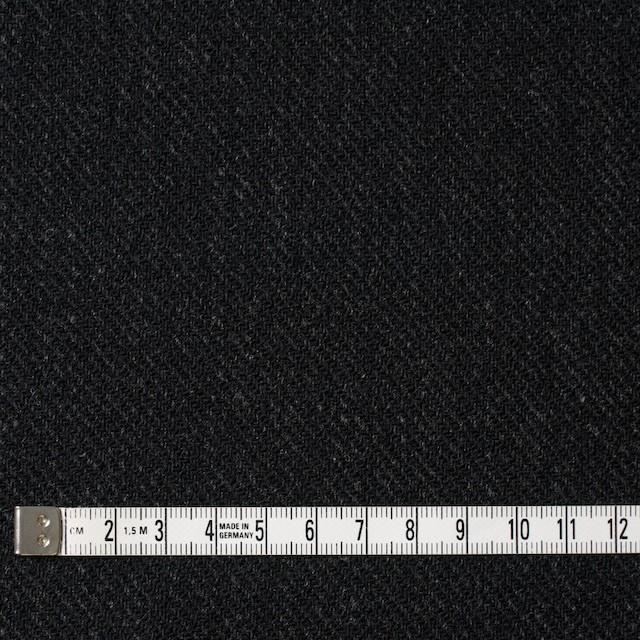 ウール×無地(ブラック)×厚カルゼ イメージ4