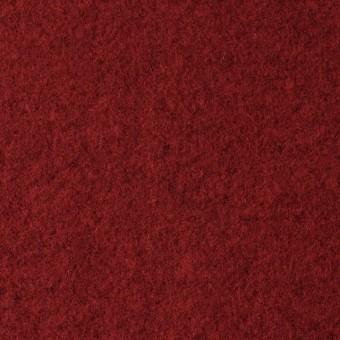 ウール×無地(レッド&チャコールグレー)×Wフェイスメルトン_イタリア製 サムネイル1