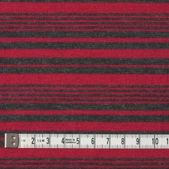 テンセル&ウール混×ボーダー(レッド)×天竺ニット_全2色 サムネイル4