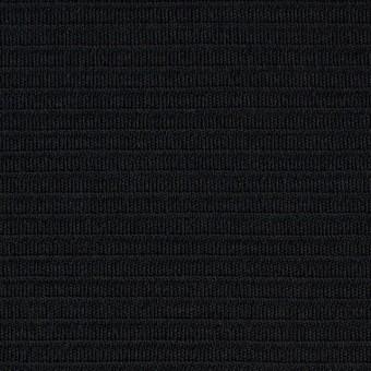 ウール×無地(ブラック)×Wニット サムネイル1