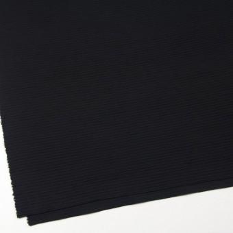 ウール×無地(ブラック)×Wニット サムネイル2