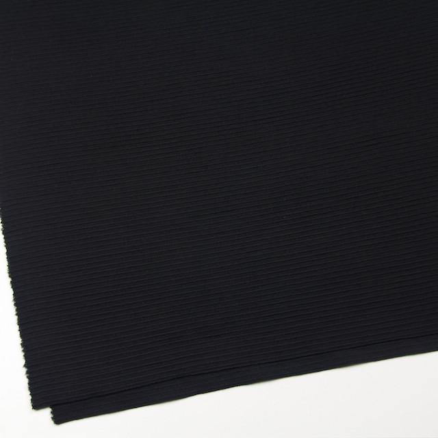 ウール×無地(ブラック)×Wニット イメージ2