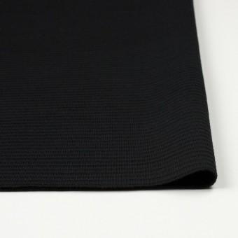 ウール×無地(ブラック)×Wニット サムネイル3