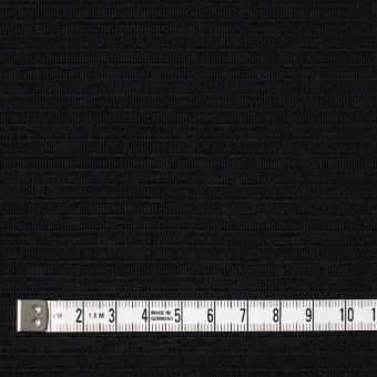 ウール×無地(ブラック)×Wニット サムネイル4